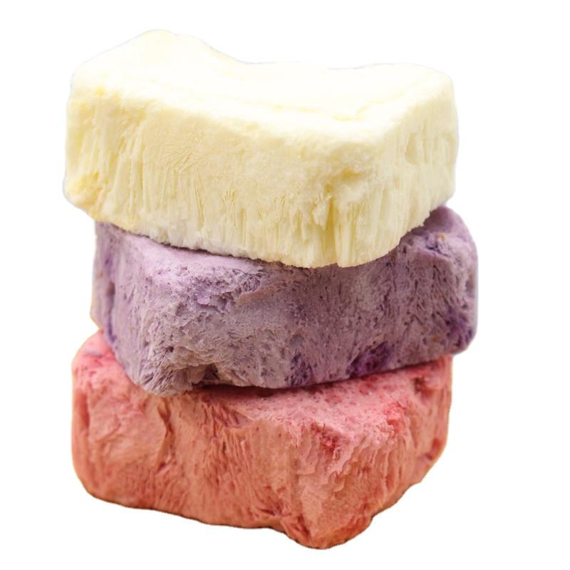 Os produtos mais vendidos alimentos saudáveis freeze dried iogurte