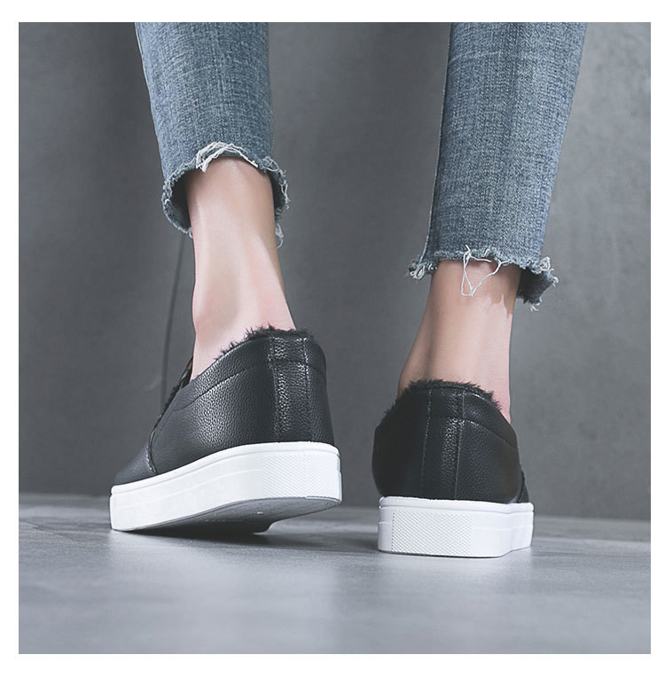 China factory women shoes white winter comfortable female for woman