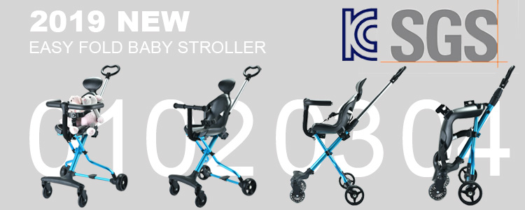 new design foldable seat reversible lightweight big wheels magic stroller