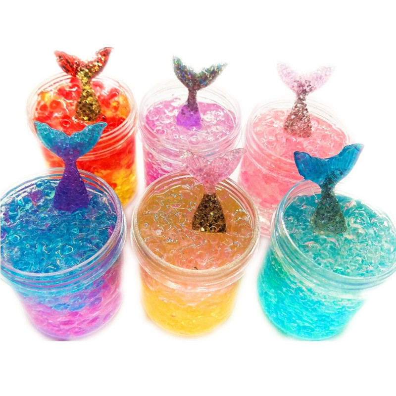 Crystal Mermaid Tail Slime <strong>Toys</strong>, Fairy Mud Slime Jelly Putty