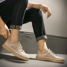 Брендовая Роскошная британская повседневная обувь в итальянском и европейском стиле; кроссовки в итальянском и корейском стиле; коллекция ...(Китай)