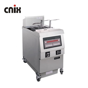 220V Fryer Automatic Gas Open Fryers/ Churros Machine with Oil Filter System