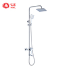 Sanitary Ware Brass Chrome Wall Mouted Bathroom Shower Faucet