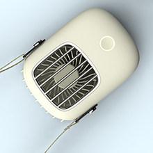1 комплект USB мини портативный охлаждающий подвесной шейный маленький вентилятор ленивый Спортивный Портативный креативный мини-вентилято...(Китай)