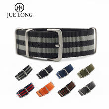9 Years Factory Customize 18mm 20mm 22mm 24mm Bond  NATO Strap Nylon Watch Strap