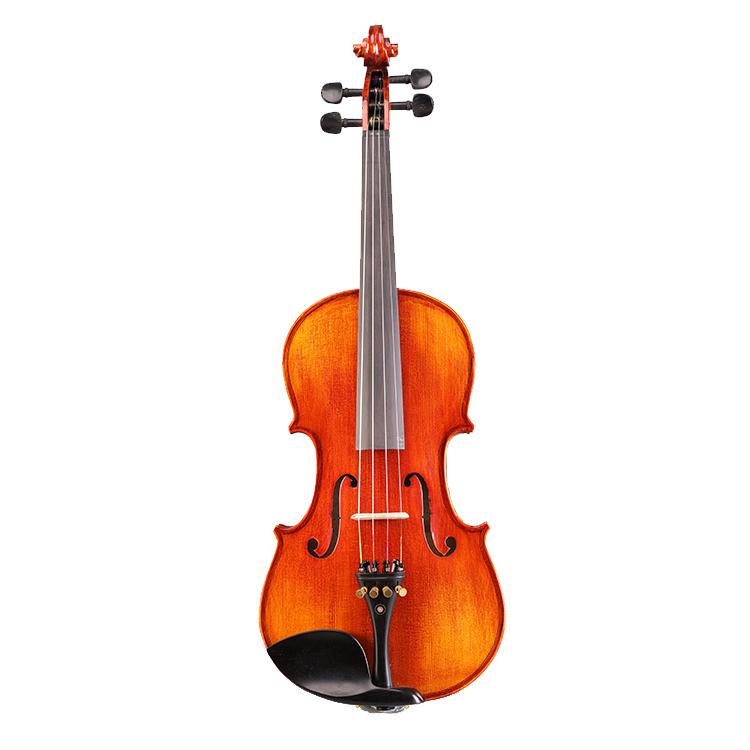High Quality  Professional Handmade  Spruce Wood Ebony Violin Wholesale