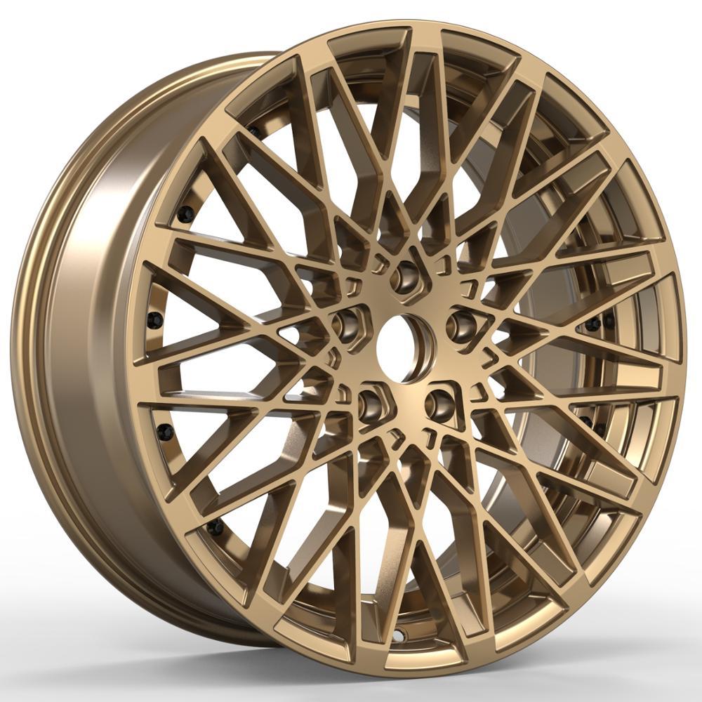 Modelo g139 20 polegadas 5x112mm processo de fundição mag rodas rodas rodas escalonadas de liga