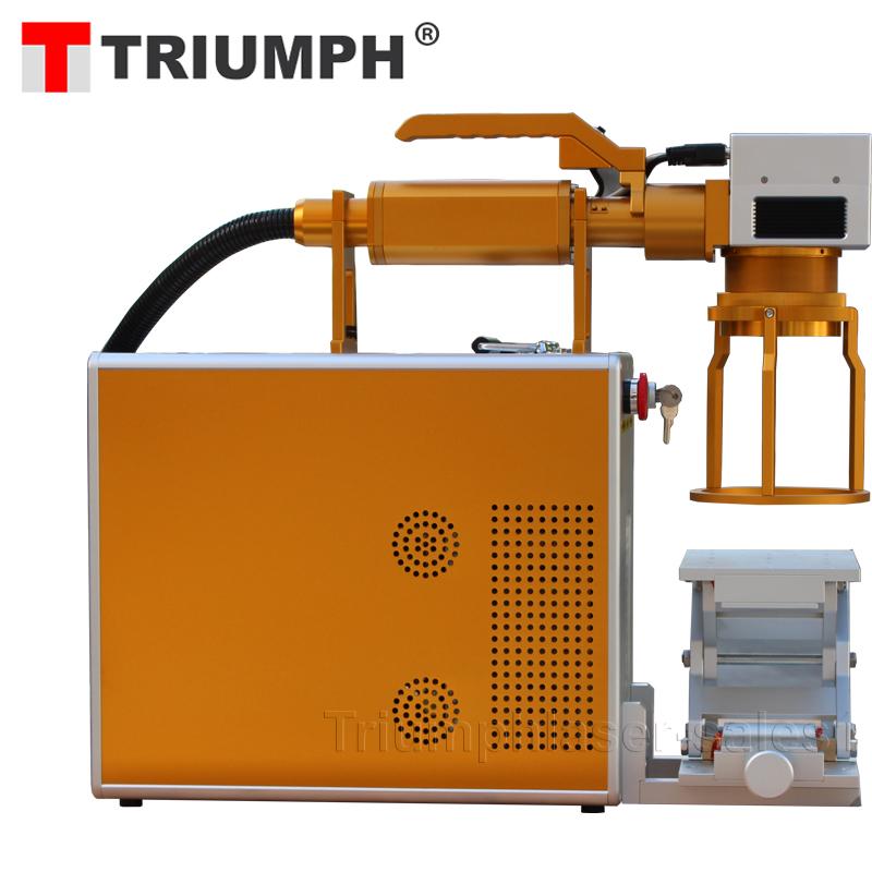 Ручной лазерный принтер металлическая пластина Сталь лазерная маркировочная машина 30 Вт 20 Вт