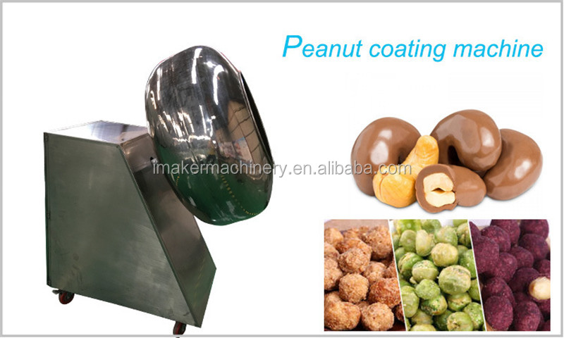 commercial chocolate panning machine chocolate coating pan for sale