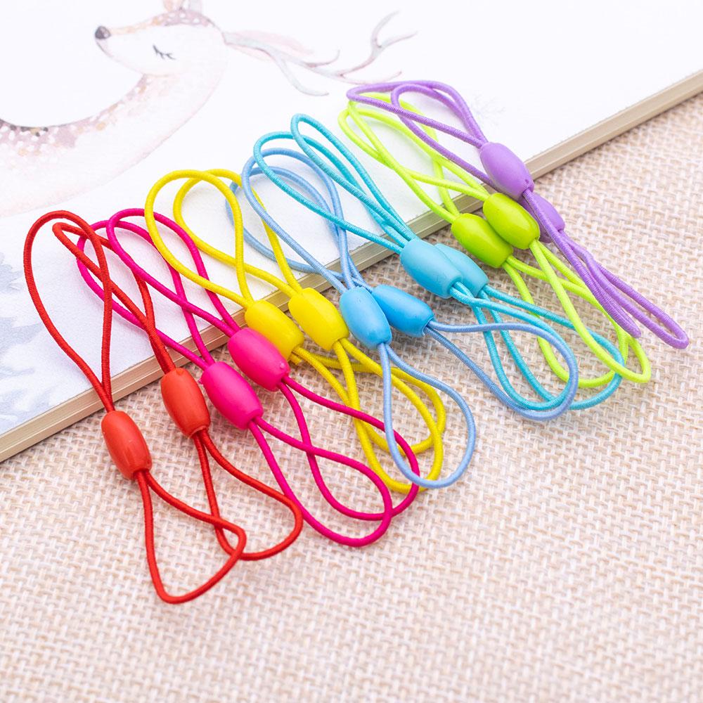 弾性ロープ弾性ロープ diy 色のストラップ弾性糸 diy ジュエリーアクセサリーコードラリアットジュエリー所見ファッション