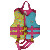 Customized Fashionable neoprene waterproof kids swimming life jacket automatic inflatable life vest