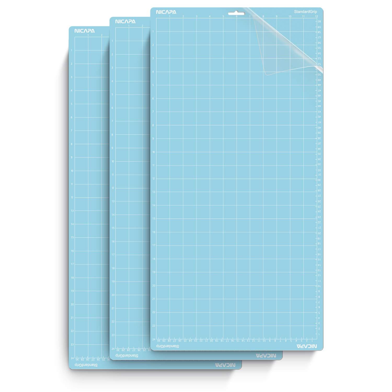 "Self Adhesive Cutting mat 1 Standard Grip/… 12""x24"""