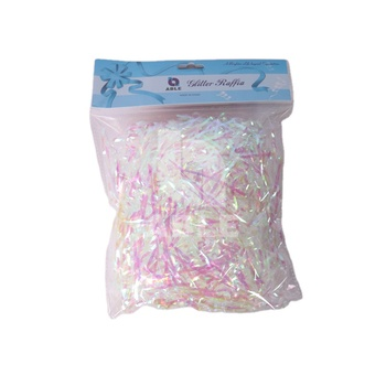 50g/bag Multicocor White Silk Quality Decorative Cosmetic Gift Packaging Box Paper Wire Dyed Color Shredded Tissue Paper Filler