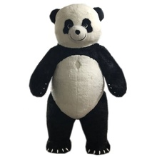 Giant 2 M/2.6 M/3 M/3.5 M Hoge Opblaasbare <span class=keywords><strong>Mascotte</strong></span> Kostuum Volwassen Walking Opblaasbare Panda <span class=keywords><strong>mascotte</strong></span> Kostuum