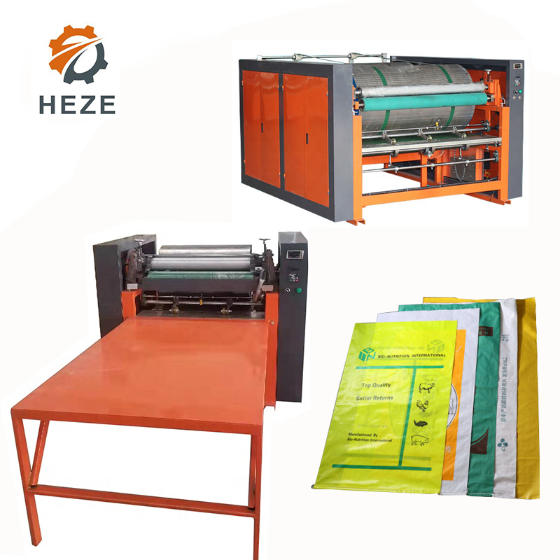 High Quality 6 Colour Flexo Printing Machine In Mexico Plastic Film New 2 Color Flexo Flexographic Printing Printers