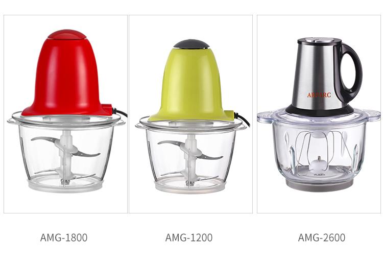 1800ML New Handy Mini Plastic Electric Food Processor Meat Vegetable Garlic Food Chopper
