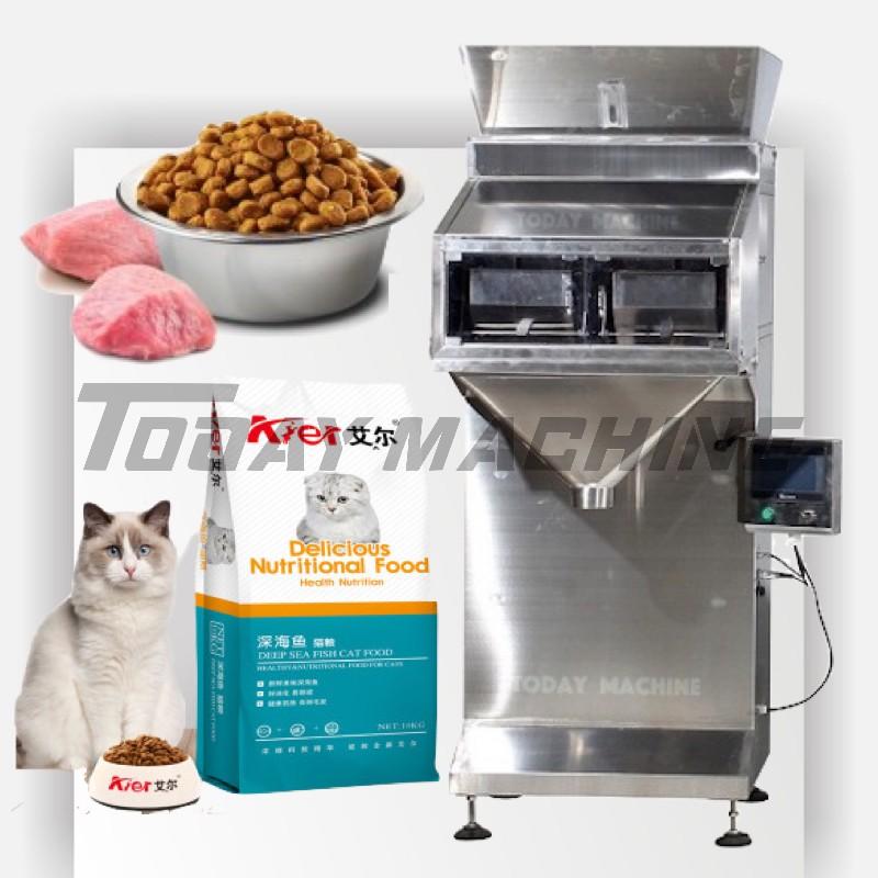 Sacchetto di riso che fa la macchina imballatrice 10 multihead bilancia auto grezzo gamberetti cracker