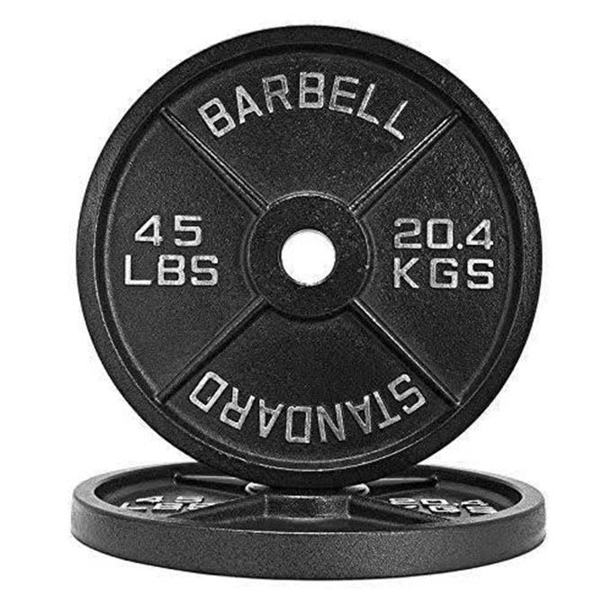 Wholesale gym dumbbell barbell set powerlifting barbell weight plate barbell