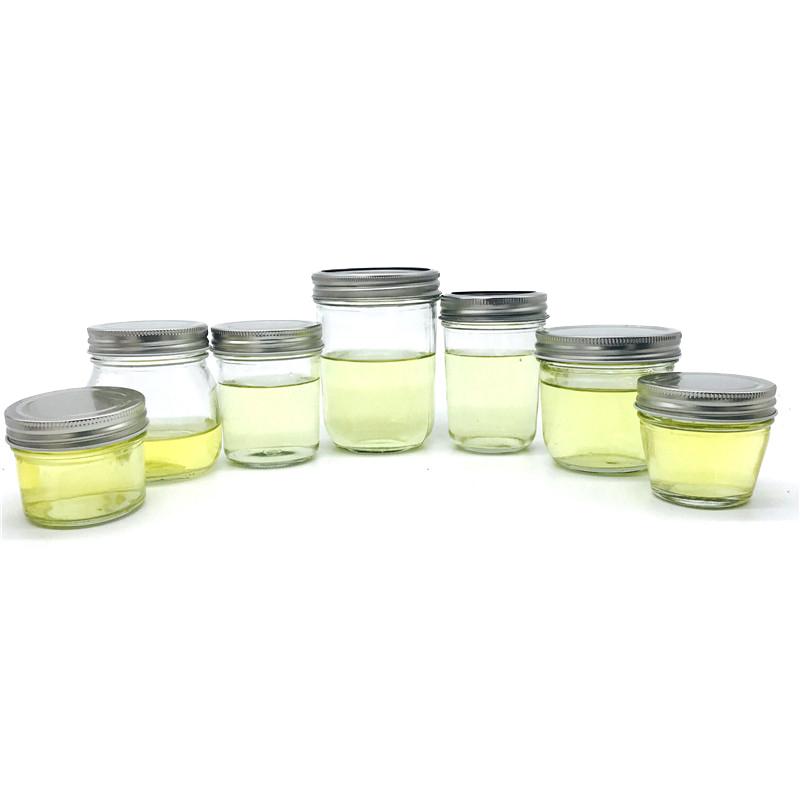 100ml 3.5oz clear airtight mason jars glass jam jars