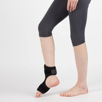 Foot Drop Brace & Ankle Foot Orthosis Support Adjustable AFO Splint & Ankle Stability