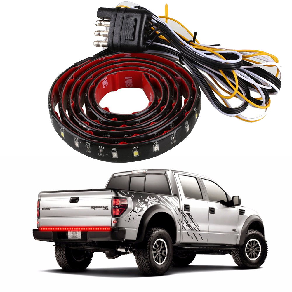LED Truck Tailgate <strong>Light</strong> Bar strip rear brake <strong>lights</strong> <strong>tail</strong> <strong>light</strong> fit for i-suzu DMAX RAM Greatwall Jmc Foton <strong>Ford</strong> Dodge pickup