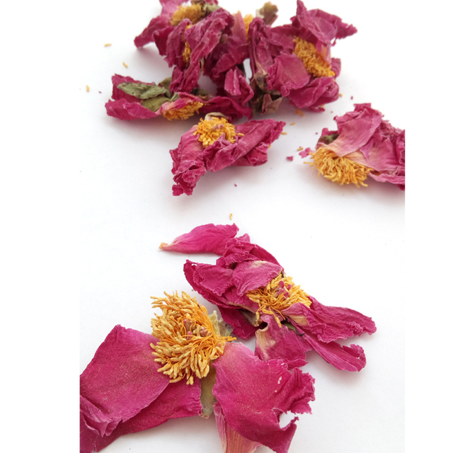 wholesale china dried real peony flowers petals for herbal fower bath