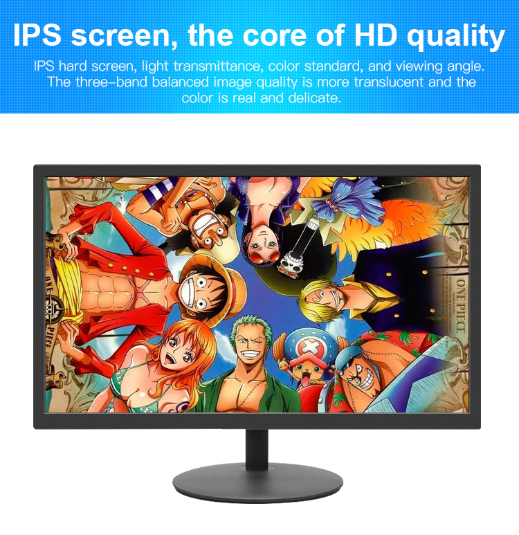 Brede Kijkhoek Ips Panel 21.5 Inch Computer Pc Led Monitor