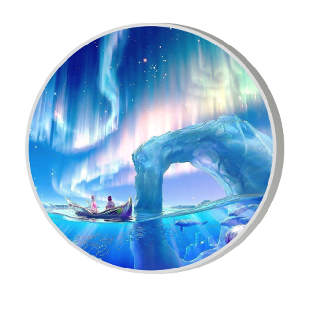 UHLED Full Color Indoor Outdoor Circular Round Screen LED Circle TV Screen Display