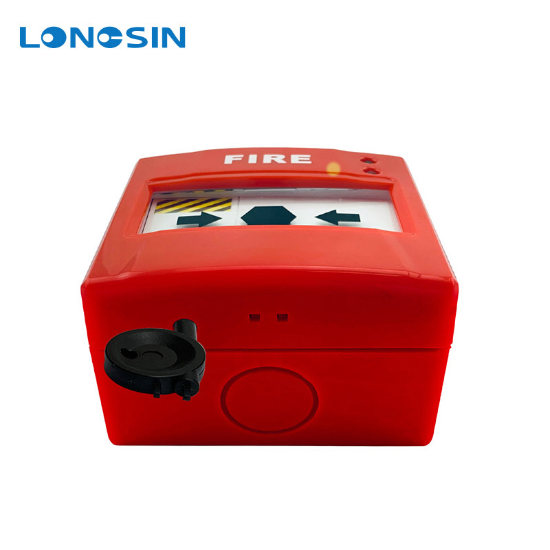 Factory Private Fire Alarm Emergency Call Button Break Glass Manual Fire Alarm Call Point