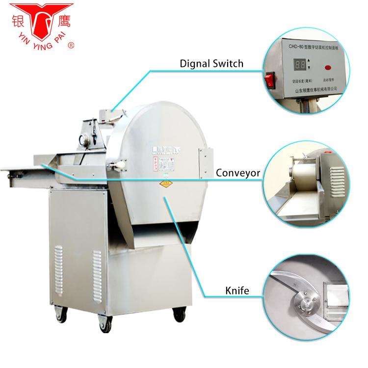 Veg cutter machine Diverse groenten snijmachine
