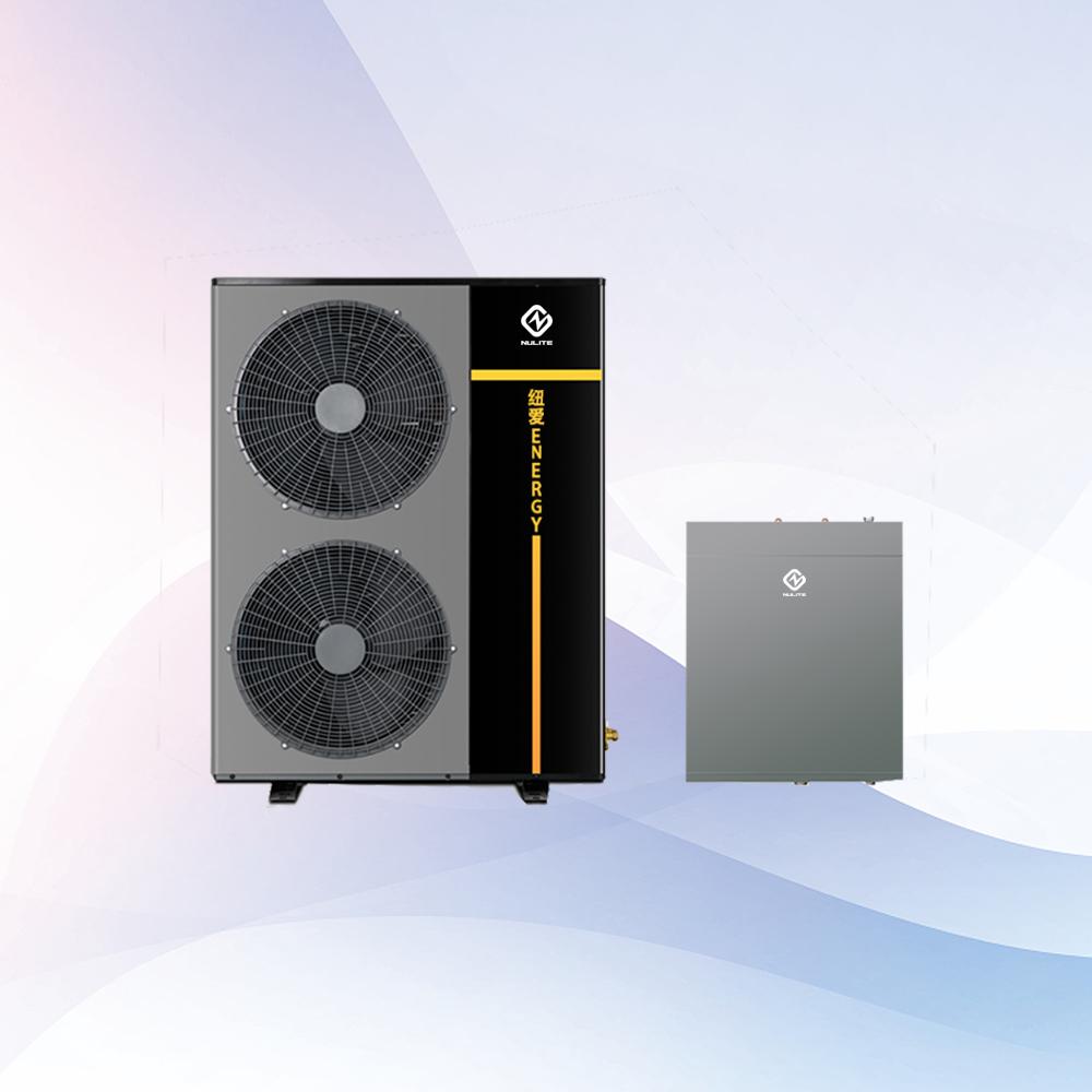 Europe air source home heating cooling r410a inverter heatpump 16kw 18kw 20kw 22kw air to water mini Split heat pump