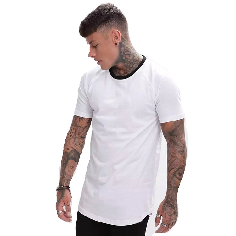 Wholesale China Customized Classic modal cotton Short Sleeve Blank White Plain Custom Printing T shirts