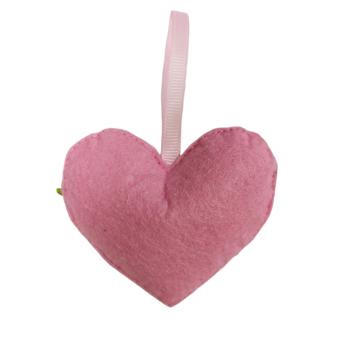 Custom hearted shaped felt fragrance aroma scented sachet for girl