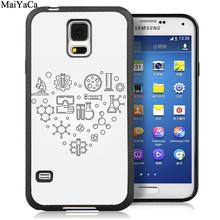 Чехлы для телефонов MaiYaCa Love Chemistry elements для samsung Galaxy S6 S7 edge S8 S9 S10 Plus Lite Note 5 8 9, задняя крышка(Китай)