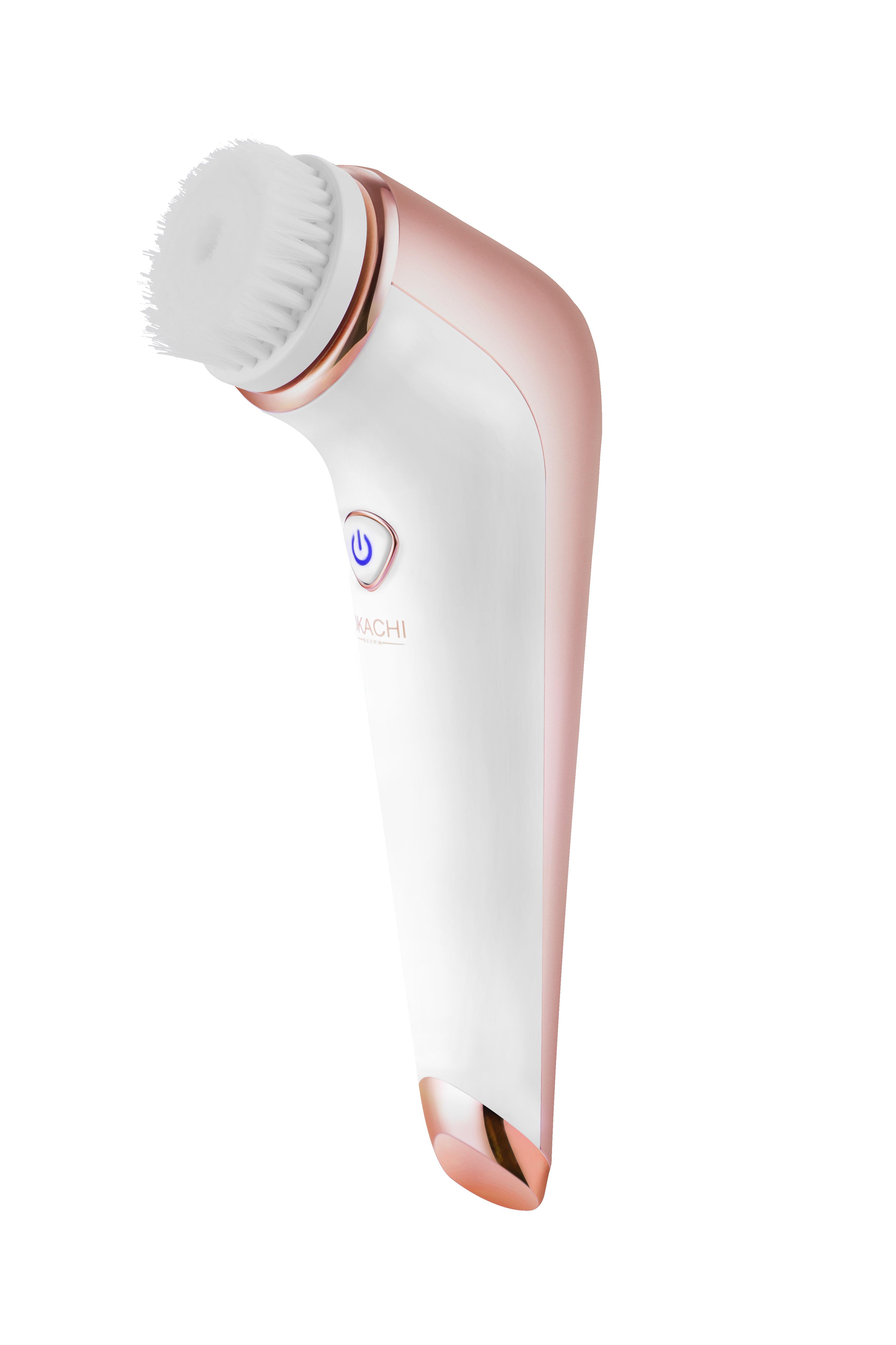 Новый продукт Электрический перезаряжаемый водонепроницаемый очищающее средство для лица отшелушивающая Очищающая щетка для лица