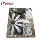 China cheap on demand print high quality softcover fashion met art a4 magazine printing