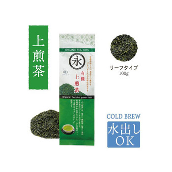 [Top] organic on green tea (leaf) 100g Choice organic sencha steeped tea(p18)