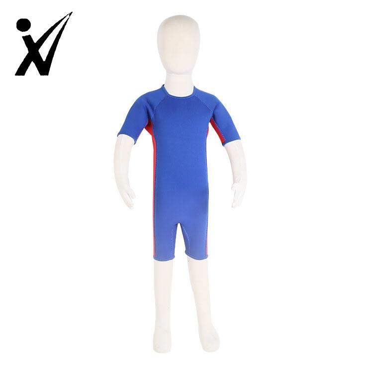 الاطفال الشباب النيوبرين بذلة الدفء ملابس السباحة للسباحة تصفح الغوص بدلة غطس الرياضات المائية