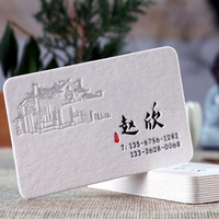 Wholesale Manufacturing Custom Business Card Printing New Design Name Card print