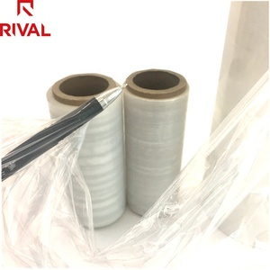 Custom Biodegradable 17mic Pallet Wrap Stretch Film Plastic Rolls from China