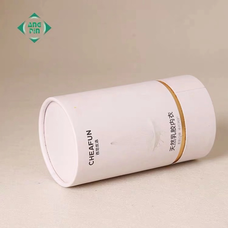 Wholesale Custom Size Cosmetic And Headphone Square  Paper Tube Jar Box Packing