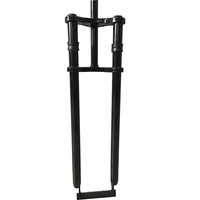"20"" 26"" 28"" steel fat bike fork with dual crown alsosuitable for E-bike"