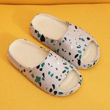 Fujin/женские новые домашние тапочки; Женские летние домашние модные тапочки для пар; Тапочки для ванной; Домашние тапочки для мужчин; 2020(Китай)