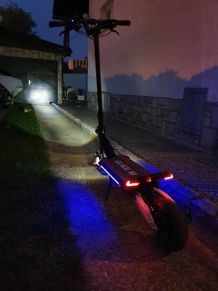 عالية الأداء شفرة 10x1200w 2bldc دراجة بخارية صغيرة كهربائية قابلة للطي