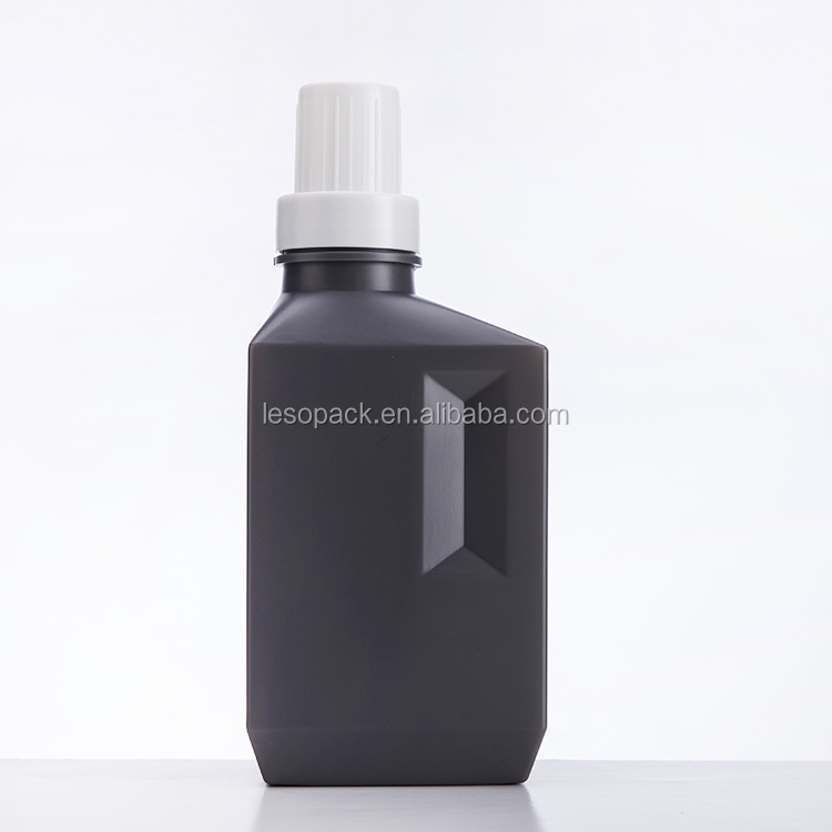 2019 Wholesale  400ml 600ml 1000ml HDPE empty plastic liquid laundry detergent Washing bottle with screw cap
