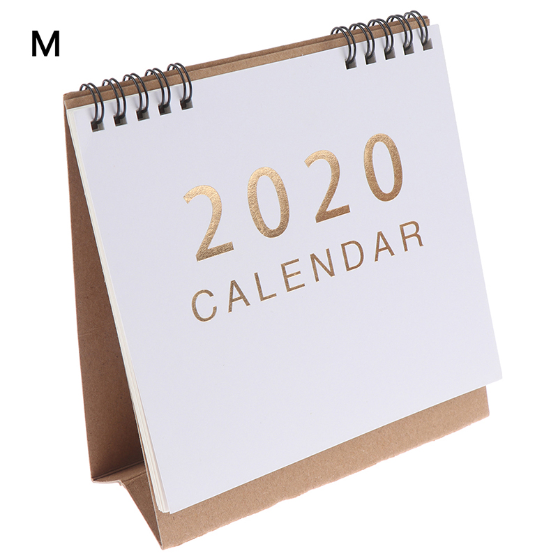 2020 настольный календарь, школьный офис, кавайный планировщик, ежедневный календарь, планировщик(Китай)