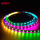 Rgb Led Strip 5m Gouly Rgb Led Strip 5m 30/60/144 Led Strip Ws2812b SK6812 Chip Dream Color Led Strip Flexible Smd Addressable