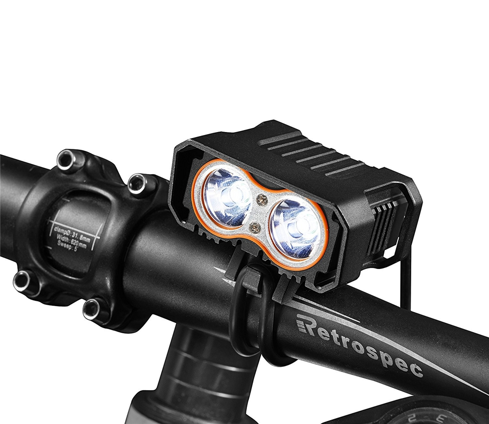 light in bicycle Front\/Rear Mud Handlebar Glass Mirror bike rearview mirror