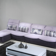Moderne <span class=keywords><strong>Woonkamer</strong></span> L Vorm Sofa Set <span class=keywords><strong>Ontwerp</strong></span>/L Vorm Sofa Cover