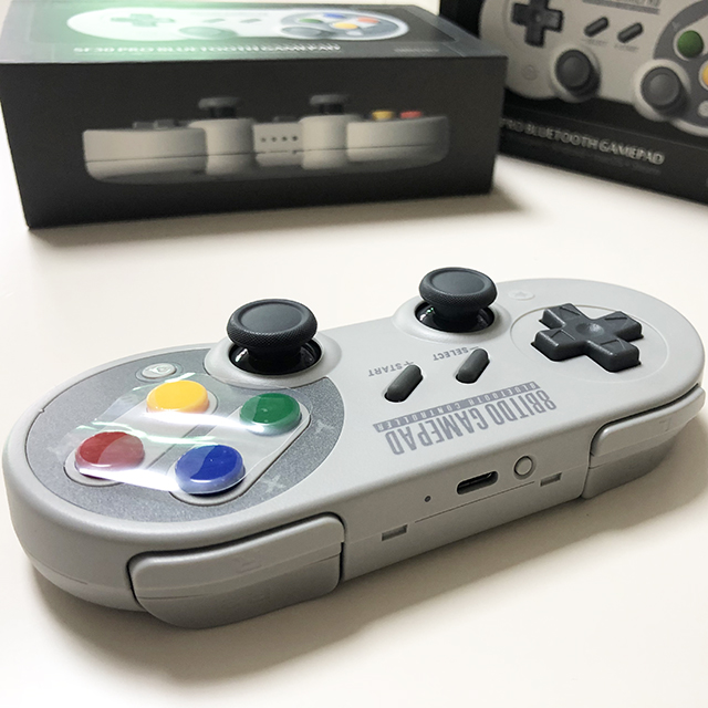 Retro 8Bitdo SF30 Pro SN30 PRo console for iOS and <strong>Android</strong> Gamepad Wireless <strong>bluetooth</strong> Game <strong>Controller</strong> console
